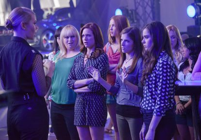 """Shown is a scene from """"Pitch Perfect 2,"""" which garnered $70.3 million at the box office this weekend."""