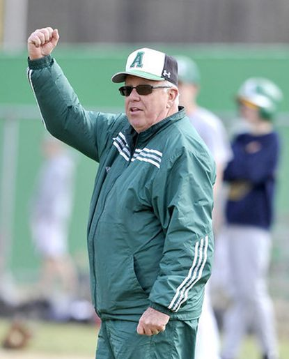 """""""I'm a lifetime learner, and I really try to get better at coaching,"""" Arundel coach Bernie Walter said."""