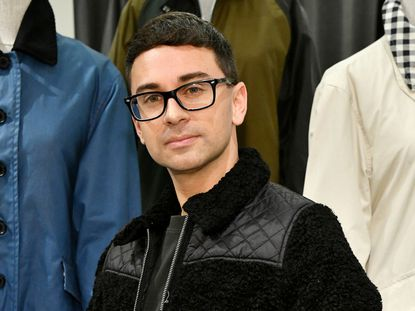Christian Siriano attends the Barbour By ALEXACHUNG Fall 2019 Collection Celebration at Nordstrom in October.