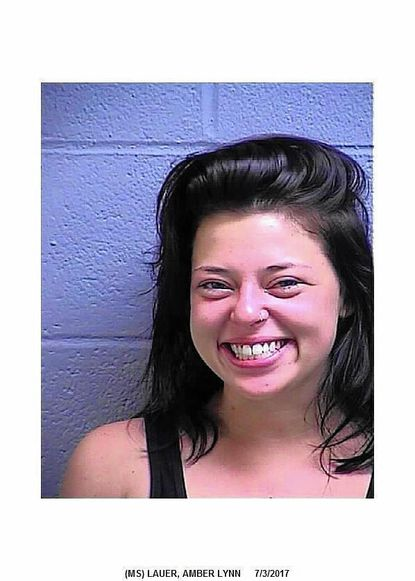 "Amber Lynn Lauer was arrested July 3 after allegedly assaulting a man. <a href=""http://www.carrollcountytimes.com/news/crime/ph-cc-lauer-amber-lynn-assault-20170705-story.html"" target=""_blank"">Full story here</a>."