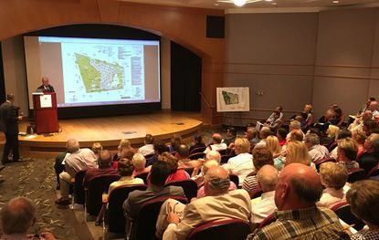 Traffic, environmental concerns raised at meeting on Lutherville church