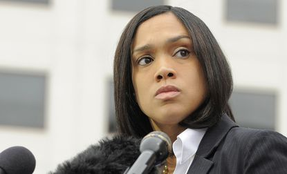 Baltimore State Attorney Marilyn Mosby / File