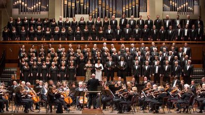 Christoph Eschenbach leads the National Symphony Orchestra, Choral Arts Society of Washington and soloists in Beethoven's Ninth at the Kennedy Center.