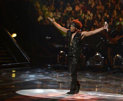 "Chris Watson shows us his armpits on ""American Idol."""