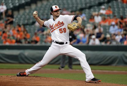 Orioles starter Mike Wright makes most of opportunity