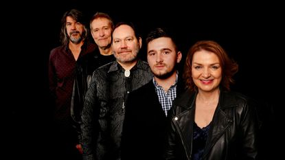 Nashville-based bluegrass band the SteelDrivers (left to right, Brent Truitt, Mike Fleming, Richard Bailey, Kelvin Damrell and Tammy Rogers) are one of the headliners at this year's Charm City Bluegrass Festival.