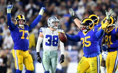 Rams run over Dallas Cowboys to advance to NFC championship game