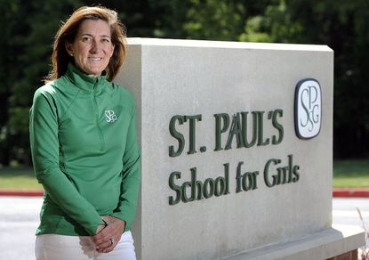 New St. Paul's School for Girls athletic director Erin Howland is a Maryvale and Greater Baltimore Chapter of the US Lacrosse Hall of Famer.