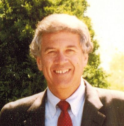 Michael P.M. Coxe served as an officer with the Seabees as a civil engineer.