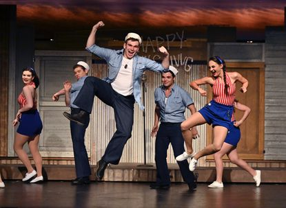 Taneytown native William Hornby (center) performs in South Pacific at The Candlelight Theatre in 2019. Hornby attends Temple University and is pursuing a Bachelor of Business Administration degree in Business Management and a Bachelor of Fine Arts degree in Musical Theater.
