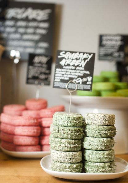 Lush cosmetics opening at Harbor East
