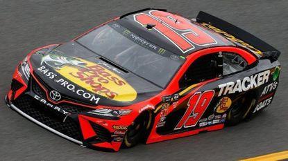 Truex Jr. and Wallace top Daytona speed charts in rainy 1st day
