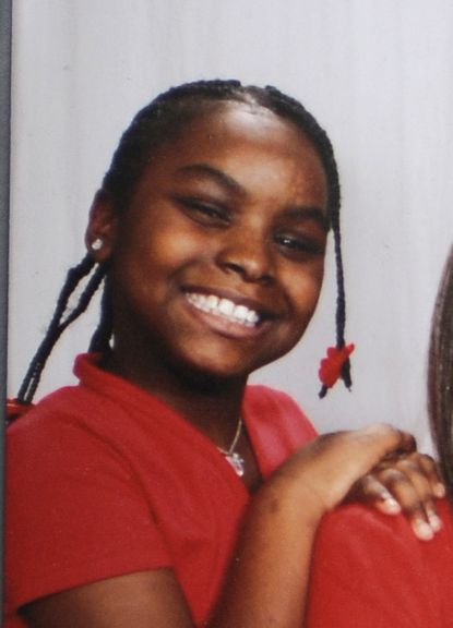 This is Monae Turnage, a 13 year old girl who was found dead yesterday near her home in northeast Baltimore. This is a family photo which is approximately 3 years old.