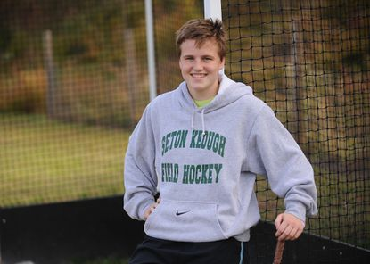 Seton Keough field hockey goalkeeper Becca Wallace is one of the main reasons why the Gators are undefeated in the Interscholastic Athletic Association of Maryland B Conference this season.