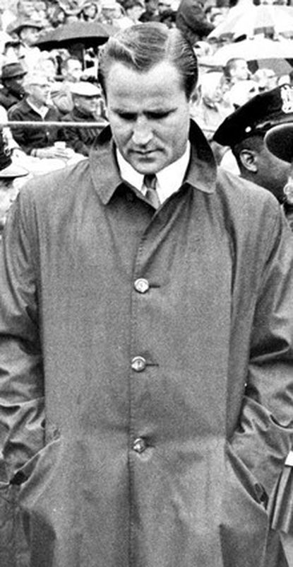 Don Shula, shown as the Colts' coach in 1963, saw his relationship with team owner Carroll Rosenbloom go sour after the Super Bowl III loss.