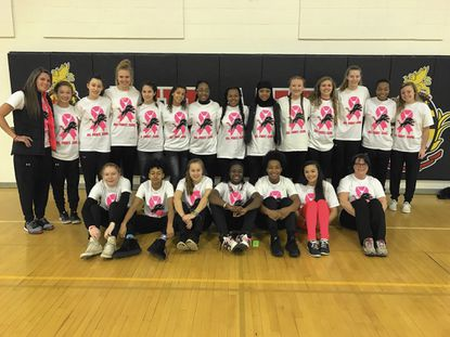 'Pinking out' for breast cancer awareness [Cockeysville]