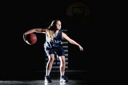 Howard's Anne Kinsey is one of three all-county players returning for the Lions this winter.