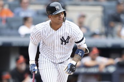 Gleyber Torres has led the Yankees' home run onslaught against the Orioles this season.