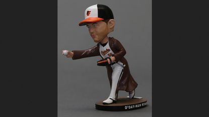 "The Orioles will give away an ""O'Day-Wan Kenobi"" bobblehead during the 2018 season."