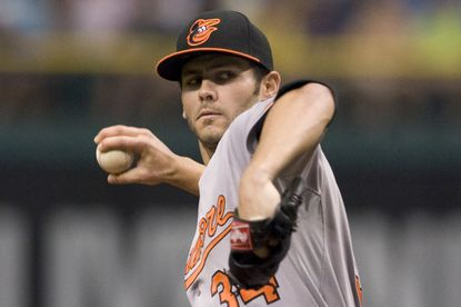 Jake Arrieta allowed four runs (three earned) and walked four Tampa Bay batters in the Orioles' 8-4 loss to the Rays.