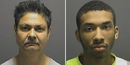 Francis Gilbert Gomes, 57, and Deangelo Deahmari Edwards, 21, were charged by Howard County Police with solicitation of prostitution