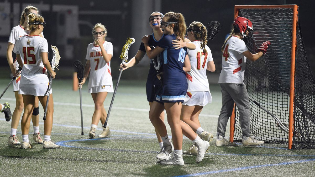 f8832e769c Six-goal spurt helps No. 10 South River top Dulaney, 11-9, for Class ...