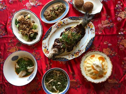 Valentine's Day and Lunar New Year feast from Nihao