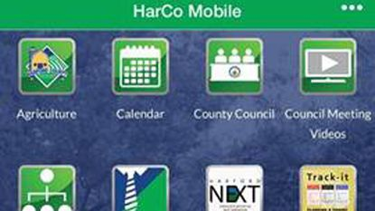 Harford County government has launched a new mobile app for is website, available from both the App Store and Google Play.