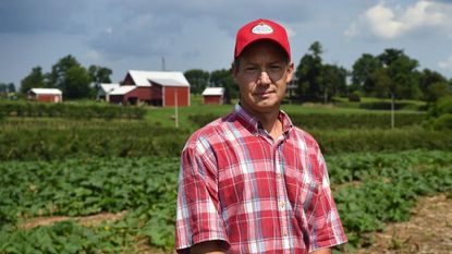 Barron Shaw, who's family has owned and operated Shaw Orchards in White Hall since 1909, is one of a number of people on both sides of the Mason-Dixon Line opposed to the Transource Energy's proposed Independence Energy Connection project.