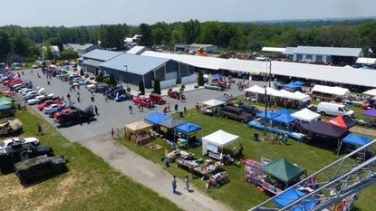 A view from above of Hampstead Day 2016. This year, the 45th edition of Hampstead Day will be held on Saturday, May 26, at the Arcadia (Upperco) Carnival Grounds, 5415 Arcadia Ave.