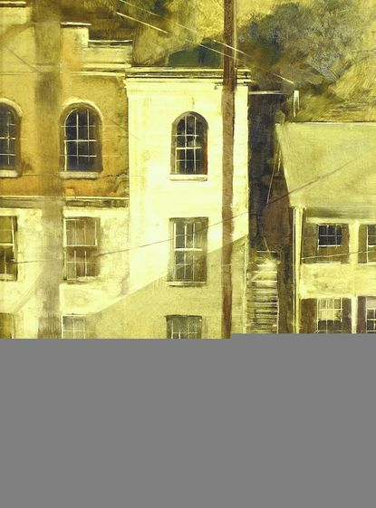 "Beth Bathe, ""Windows of Ellicott City"""