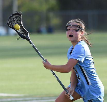 C. Milton Wright senior Lydia Cassilly scored four goals Tuesday night to lead the Mustangs past Bel Air, 14-4.