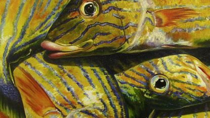 """Sandra Dietzel, """"Tuesday's Catch,"""" oil, is part of the """"Art Howard County 2017"""" exhibit at the Howard County Center for the Arts."""