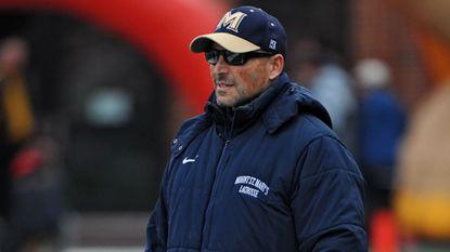 Mount St. Mary's men's lacrosse coach Tom Gravante.