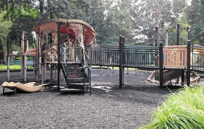 Donation offers pour in to rebuild Aberdeen playground damaged by suspected fire; city offers $500 reward