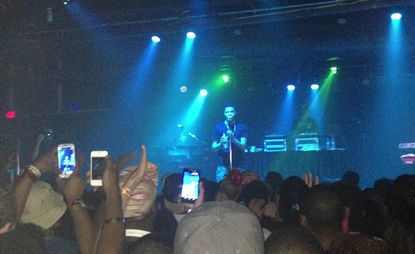 J. Cole performs surprise show at Baltimore Soundstage.