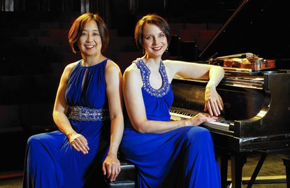 Sunday songs The Sundays at Three Chamber Music Series will host a concert with the Kobayashi/Gray Duo, above, 3 p.m. Sunday, Oct. 4, at Christ Episcopal Church, 6800 Oakland Mills Road, Columbia. Tickets $15; age 17 and under free with an adult. Information: 443-288-3179 or SundaysAtThree.org.