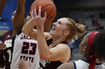 Maryland women's basketball added graduate transfer Katie Benzan (Harvard) as well as Chloe Bibby (Mississippi State, pictured) last week.