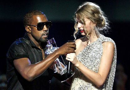 The beef between singer Kanye West and Taylor Swift goes deeper than we thought.