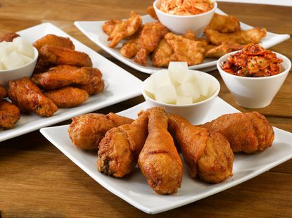 The Canton location of the New York franchise Bonchon, known for its South Korean-styled fried chicken, discreetly opened its doors to customers for the first time Tuesday after months of anticipation.
