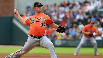 Orioles notes: Right-hander Dylan Bundy rolled ankle on bases, next start in jeopardy