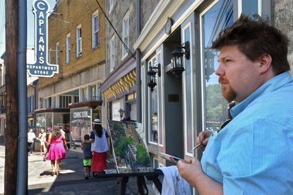 Paint It! Ellicott City 2020, originally scheduled for June 25-29, has been rescheduled for Oct. 15-19.