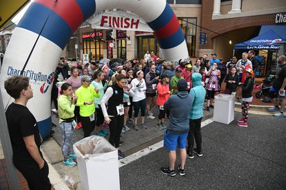 Bob Cawood writes for some runners, they need the glitz of a large community running event, like this Anti-Resolution Donut Mile women's race hosted by Charm City Run Annapolis last January, to justify the hours or training and the miles underfoot.