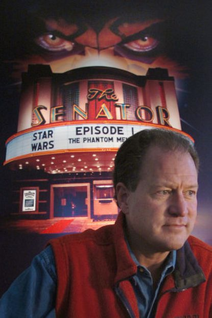 Tom Kiefaber has owned the Senator Theatre on York Road since 1988.