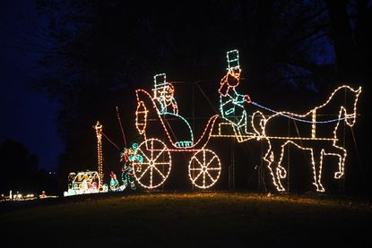 Sandy Point State Park's Lights on the Bay features more than 60 holiday light displays along a 2-mile stretch of waterfront roadway. The $15-per-car admission raises money for the Anne Arundel SPCA, and the scenic drive is open from 5 to 10 p.m. nightly through New Year's Day. 1815 Bay Ridge Ave., Annapolis.