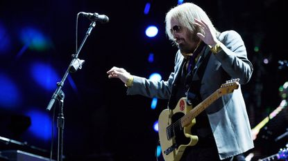 Tom Petty, photographed here performing with the Heartbreakers in June 2017 in Pasadena, Calif., performed at Royal Farms Arena on Sunday night.
