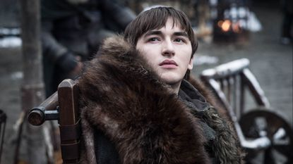 """Isaac Hempstead Wright in the Season 8 premiere of """"Game of Thrones"""" on HBO."""