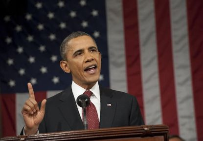 """Obama pushes """"clean energy,"""" defends environmental rules"""