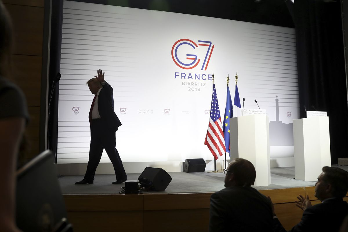 The United States Used To Work With Other Countries At G 7