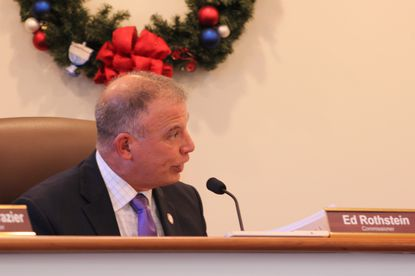 Commissioner Ed Rothstein, R-District 5, argued gas stations should be a conditional rather than permitted use in the C-1 zoning district at the commissioners meeting Dec. 12, 2019.